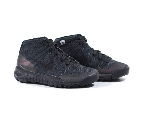 Nike Flyknit Chukka Black nike flyknit chukka trainer fsb black anthracite