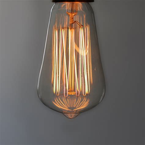 Filament Light Bulb Fixtures Small 19 Anchor Squirrel Cage Filament Bulb E27 Mimime Touch Of Modern