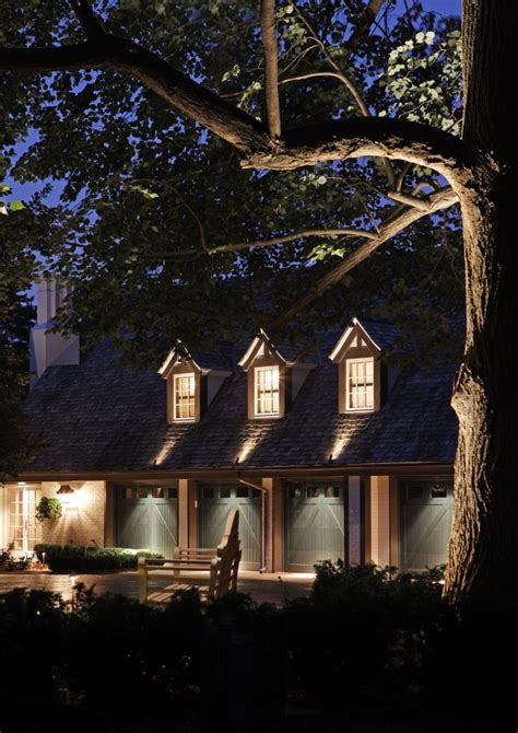 Mckay Landscape Lighting Unique Ways To Light Garage Doors To Add Safety And Curb Appeal