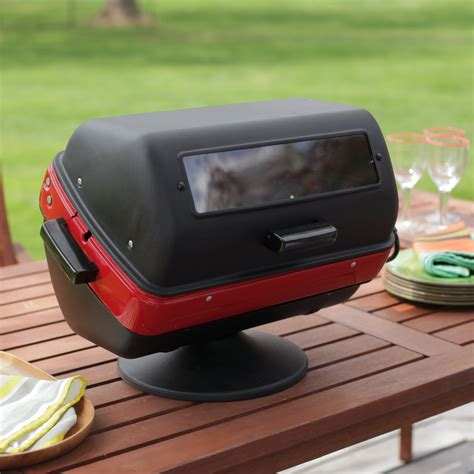 Meco Tabletop Electric Grill Electric Grills At Hayneedle Best Electric Patio Grill