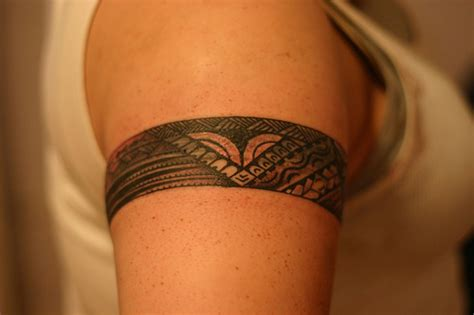 polynesian armband tattoo the gallery for gt polynesian armband tattoos for