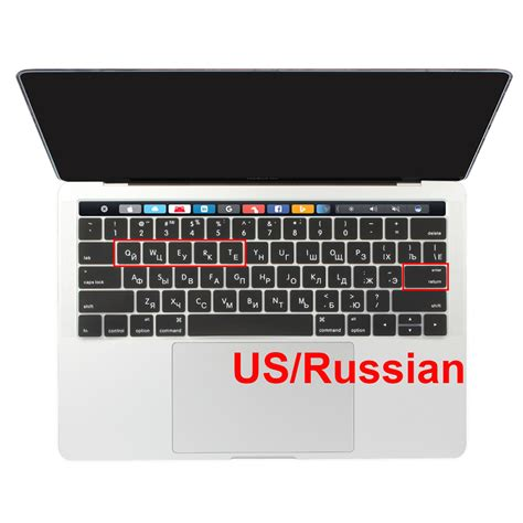 Palm Guard Macbook Pro 13 Retina 2016 Touchbar Non 15 Inch Space Grey us russian layout for macbook pro 13 3 15 4 inch new 2016 2017 model touchbar retina display