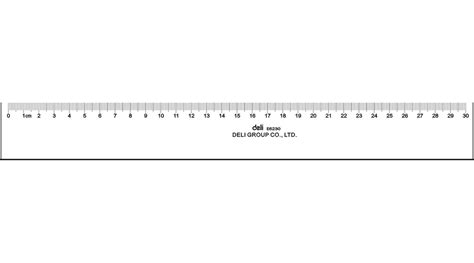 Handuk 30 X 30 Cm ruler 30cm 183 stationery