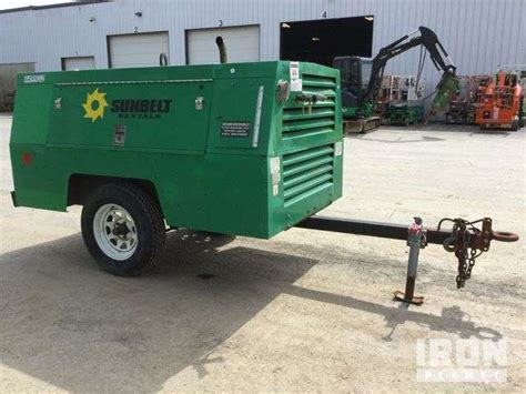 2006 sullivan palatek d210q11jdb 210 cfm air compressor for sale 2 124 hours bangor me