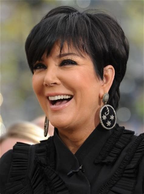 back of chris jenners hair kris jenner kim won t sell divorce interview corte de pelo