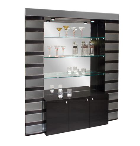 mirrored bar stand and shelves bar furniture stands