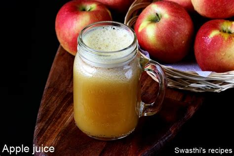apple juice recipe how to make apple juice with