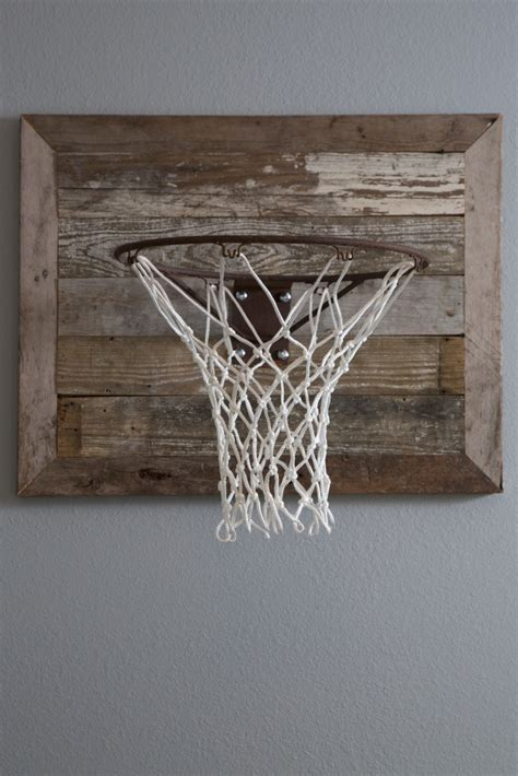 basketball hoop for bedroom rustic basketball goal how cool as seen on hgtv s quot fixer quot for braxton s room home