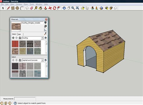 home design software sketchup how to design a dog house in sketchup 10 steps with