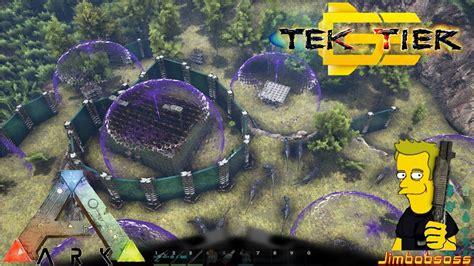 ark motorboat base ark tek shield base raid gaming evolved guest s