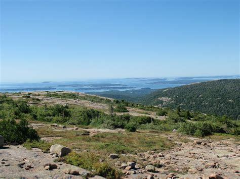 cadillac mountain trails acadia national park cadillac mountain south ridge
