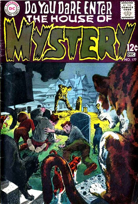 house of mystery house of mystery 177 neal adams cover pencil ink