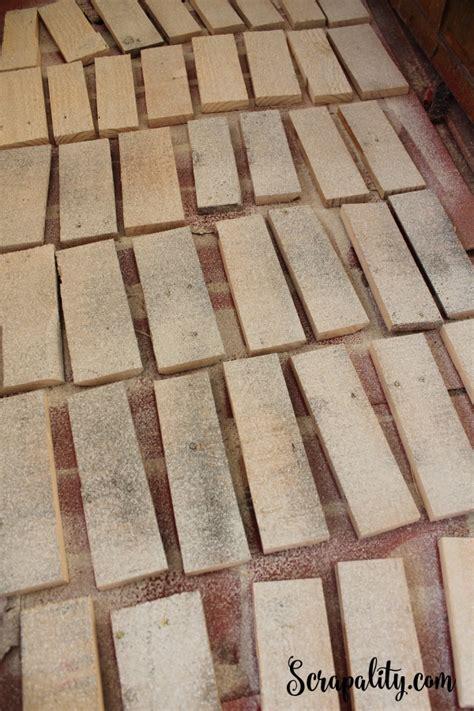 faux brick for kitchen backsplash faux brick backsplash using reclaimed wood part one