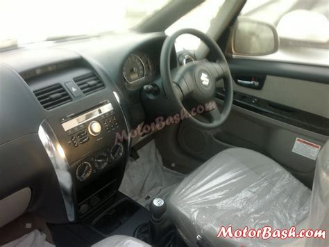 Maruti Suzuki Sx4 Interior 2013 Maruti Sx4 Facelift Pics Changes All Details
