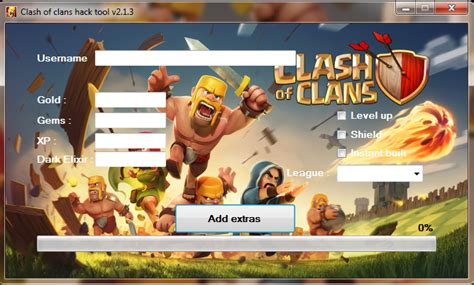 download game coc mod rar clash of clans game hack clash of clans hack tool v2 1 3