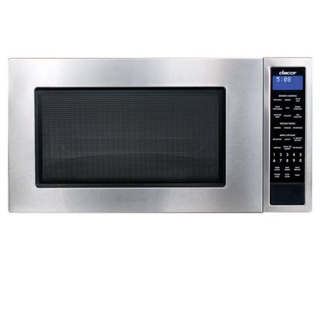 Countertop Microwaves At Lowes by Shop Dacor 2 Cu Ft 1 100 Watt Countertop Microwave