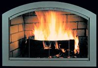 Broken Glass Fireplace by Fireplace Glass Doors We Sell