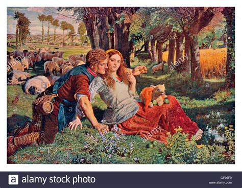 by william holman hunt the hireling shepherd the hireling shepherd by william holman hunt pre