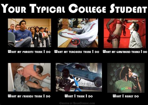 College Student Meme - the first begincollege com meme your typical college