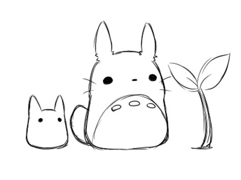 my neighbor totoro illustration gif find amp share on giphy