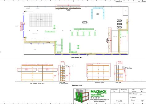 layout of warehouse warehouse layout design solutions macrack
