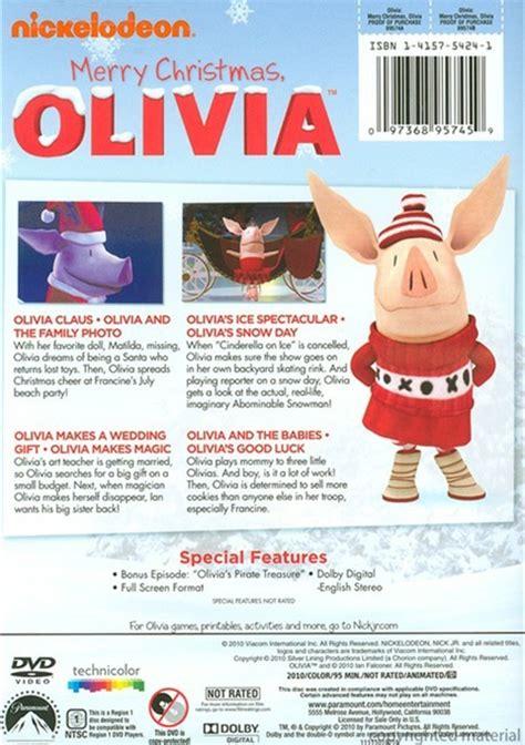 merry christmas olivia dvd  dvd empire