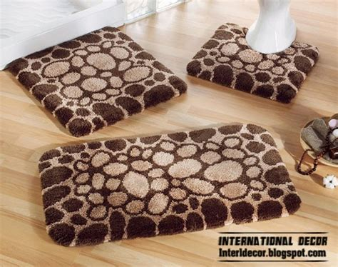 Latest Models Of Bathroom Rugs And Rug Sets Brown Bathroom Rug Sets