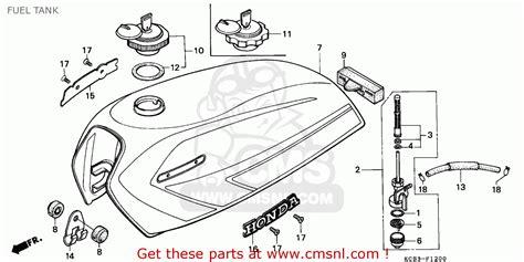 honda cg125 wiring diagram honda ignition diagram wiring