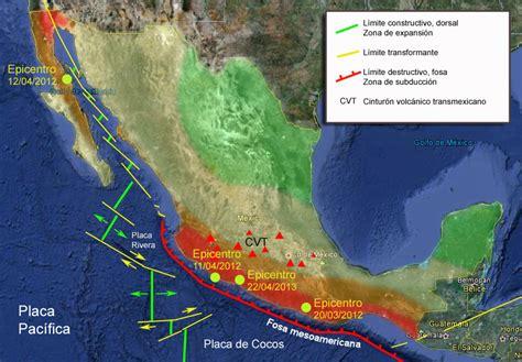 define cadena volcanica zonas s 237 smicas de m 233 xico claves para los terremotos de