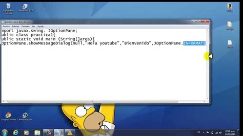 imagenes html bloc de notas programaci 243 n en java con bloc de notas tutorial 1 youtube