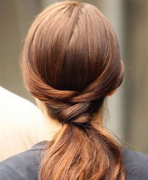 Gossip Hairstyles by Gossip Hairstyle A Twisty Ponytail Hairstyles For