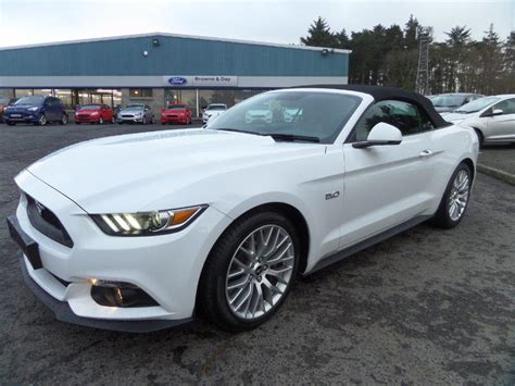 Used Ford Mustang Convertible by Used 2016 Ford Mustang Mustang 5 0 V8 Gt Auto Convertible