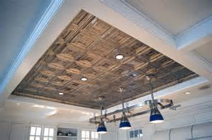Painted Tray Ceiling Ideas Hand Painted Tin Ceiling South Hampton La Bastille
