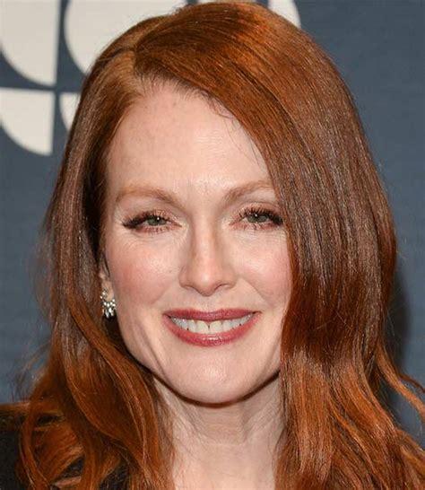 julianne moore medium hairstyle 29 best hairstyles for medium red hair