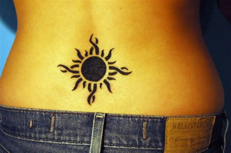sun back tattoo designs tattooz new sun tattoos for