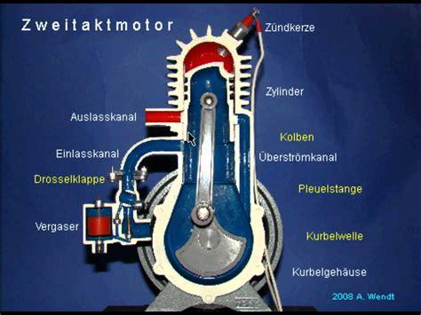 Zweitakt Diesel Motorrad by Zweitaktmotor Vereinfacht