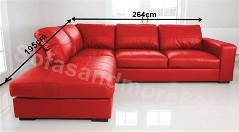 red faux leather sofa new westpoint corner sofa faux leather red left