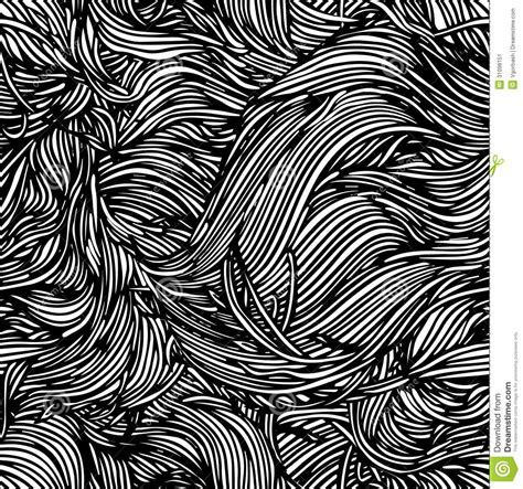 black and white hand pattern vector seamless black and white abstract hand drawn
