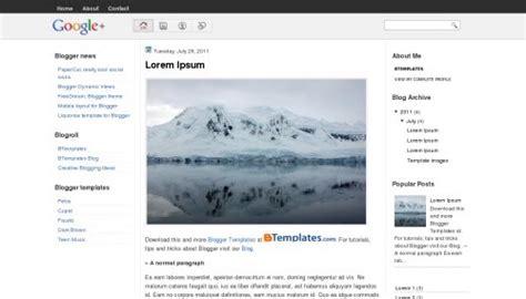 free templates for google blogger google plus blogger template btemplates