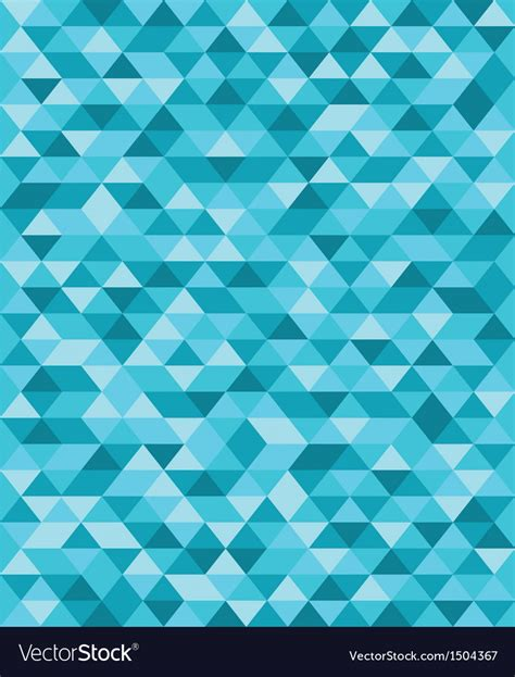 blue triangle pattern vector background blue triangle pattern background royalty free vector image
