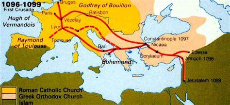 maps of the crusades c flynn world history