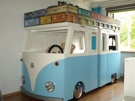 vw bus bed diy vw micro bus bunk bed and playhouse your projects obn