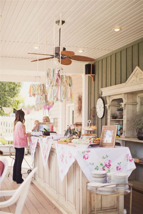 Who Plans The Bridal Shower by Special Wednesday Planning A Rustic Vintage Bridal Shower
