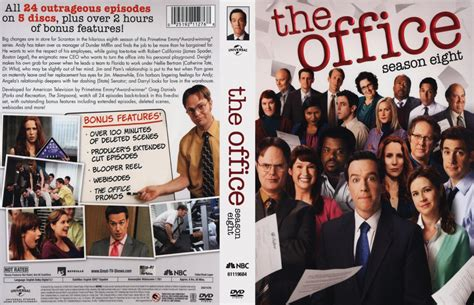 The Office Season by The Office Season 8 Tv Dvd Scanned Covers The Office