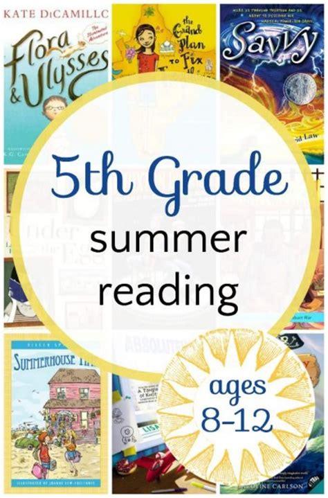 for graders engaging 5th grade summer reading list