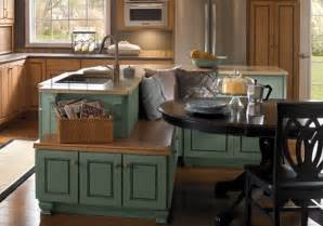 Island Kitchen With Seating by Island Cabinets Kabco Kitchens