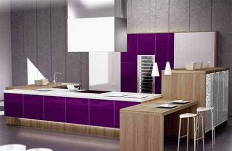 purple kitchen ideas modern purple and spain kitchen ideas from spazzi