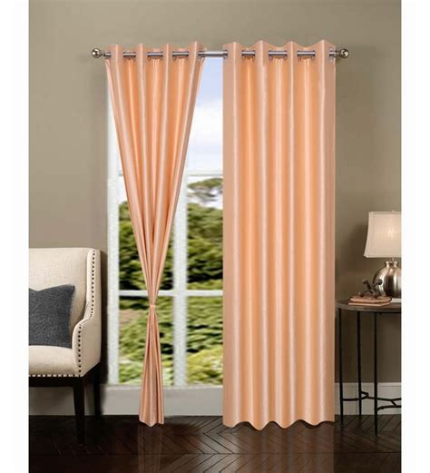 Fancy Door Curtains Exporthub Beautiful Fancy Eyelet Door Curtain Set Of 2 Designer By Exporthub Nature