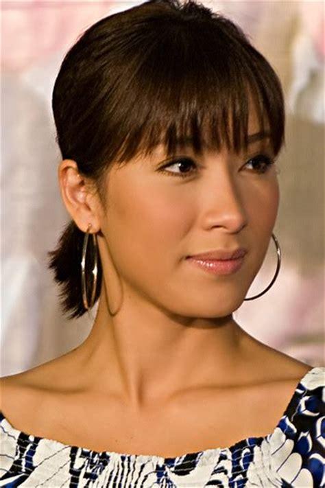 hong kong star latest hair style preview hk artists world star look at tavia yeung s hair