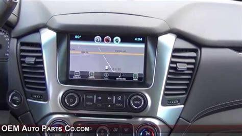 update gmc navigation system 2015 2018 tahoe suburban yukon io6 factory gps navigation